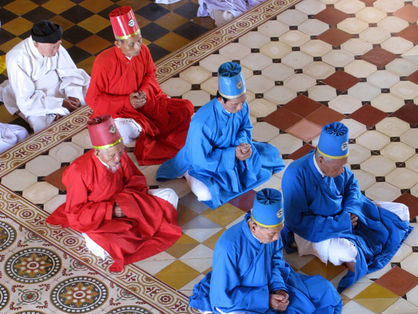 cao dai or caodaism is a vietnamese religion that wasVietnamese Religion
