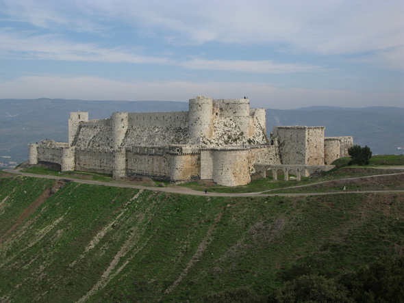 Up at the Krac of dawn, Krak des Chevaliers | Syria | Retrospective TravellerRetrospective Traveller